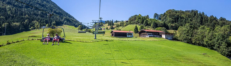Hocheck Bergbahn in Bayern - Urlaubsregion