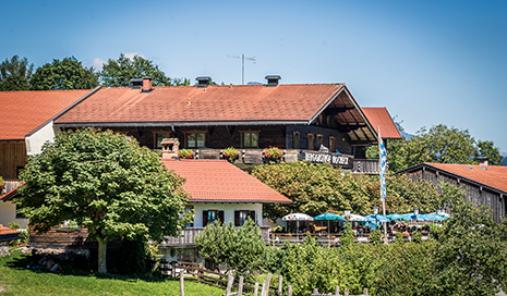 Berggasthof an der Bergstation Hocheck